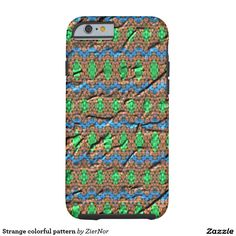 Strange colorful pattern tough iPhone 6 case