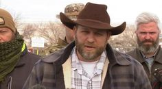 Ammon Bundy and Followers Arrested in Traffic Stop, 1 Dead ...so their big tough guy war against the gubmit turned out to be a three week slumber party sans snacks and warm socks !!!