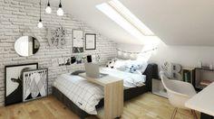 Bedroom Wall Colors, Bedroom Layouts, Bedroom Decor, Laminate Flooring On Walls, Student Bedroom, Teenage Room Decor, Apartment Makeover, Minimalist Bedroom, Dream Rooms