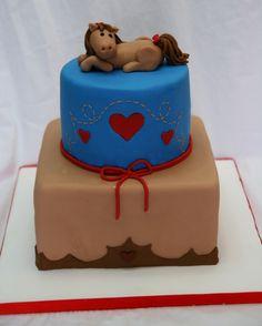 Horse / Cowgirl Cake