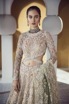 Bridal Fashion Designers Beautiful top Pakistani Bridal Designers and their Festive Wear Cost Pakistani Wedding Dresses, Indian Dresses, Indian Outfits, Bollywood Wedding, Saree Wedding, Walima Dress, Pretty Wedding Dresses, Bridal Lehenga, Bridal Gown