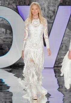 Vestido de novia Modelo Fabrega. Yolancris 2018