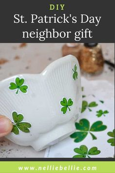 This easy craft is perfect for kid's to make on a weekend afternoon. It combines stickers with nail polish for a surefire creativity hit! You'll love that this craft is easy, fast, and clean-up is a breeze. Plant shamrock (clover) plants in their planters and send them out to gift them to the neighbors. #StPatricksDay #KidsCrafts #Neighborgift St Patricks Day Crafts For Kids, St Patrick's Day Crafts, Kids Crafts, Spot The Difference Games, Clover Plant, Shamrock Plant, Leprechaun Hats, Surefire, Neighbor Gifts