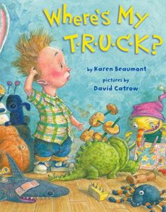 So much emotion. So many things to point out and talk about. LOVE this book! Where's My T·R·U·C·K? by Karen Beaumont