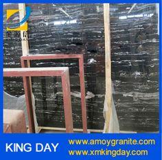 Silver Dragon marble slab,Black marble slab,