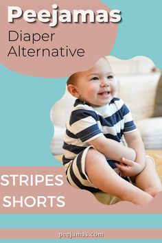 Peejamas Stripe Short is not just another design, but the perfect diaper alternative and the best product to use for potty training because it is environmentally friendly. Before you splurge on bedwetting alarms, which can be expensive, unreliable, and intrusive, try Peejamas. This pajamas are 100% reusable and will surely love by your toddlers! #PottyTrainingClothTrainers #OvernightPottyTrainingPants #NighttimePottyTrainingPants #ToddlerPottyTrainingLifeHack
