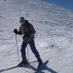 skiing..