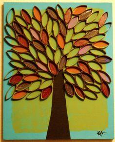 Een mooie boom,leuk om te maken!