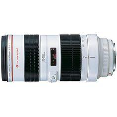 Amazon.com: Canon EF 70-200mm f/2.8L USM Telephoto Zoom Lens for Canon SLR Cameras: CANON: Camera & Photo