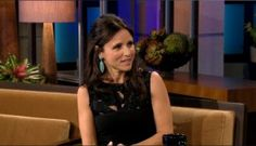 VEEP Julia Louis-Dreyfus on the Tonight Show with Jay Leno