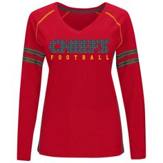 4ba1fc01d7f Kansas City Chiefs Majestic Women s Deep Fade Route Long Sleeve... ( 46)