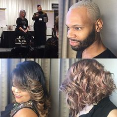ALFAPARF MILANO at Premier Birmingham ! Jeannetta Walker was able to showcase a wide range of colors and techniques from all of our color lines.