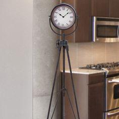 Industriële klok - industriële accessoires - industrieel interieur