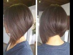 How to Cut Graduated Bob - Haircut Tutorial Step by Step - Hairbrained