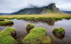 In the shadows of heaven @ Mark Finney — in Iceland.