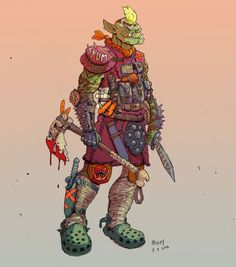 swamp-dwelling croc-wearing orcs.  TUESDAY NIGHT FIGHTS tumblr
