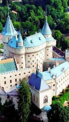 Castle Bojnice in Slovakia