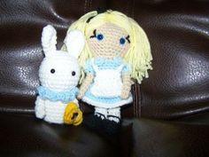 Alice in Wonderland Amigurumi