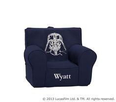 Star Wars™ Darth Vader™ Crewel Anywhere Chair | Pottery Barn Kids