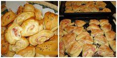 To je nápad! Salty Foods, Pretzel Bites, Shrimp, French Toast, Food And Drink, Favorite Recipes, Bread, Snacks, Chicken