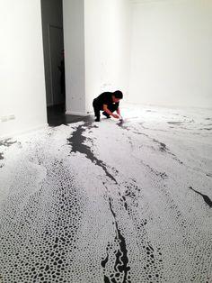 Motoi Yamamotos Bilder aus Salz... via Designchen