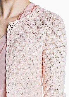 Fabulous Crochet a Little Black Crochet Dress Ideas. Georgeous Crochet a Little Black Crochet Dress Ideas. Gilet Crochet, Crochet Coat, Crochet Jacket, Crochet Cardigan, Crochet Clothes, Crochet Stitches, Crochet Patterns, Mode Crochet, Irish Lace