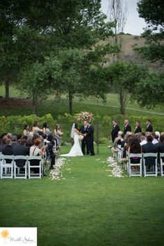 Strawberry Farms Golf Club Wedding Pictures Wedding Ceremony Michelle Johnson Photography