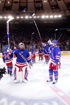 New York Rangers - Madison Square Garden in NYC