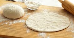 Parmesan pizza dough is a favorite of my family! Everyone loves the flavor of the cheese in this Parmesan thin crust pizza dough recipe. It is also so easy to Pizza Recipes, Cooking Recipes, What's Cooking, Best Pizza Dough Recipe, Thin Crust Pizza, Home Made Pizza Crust, Good Pizza, Perfect Pizza, Quick Pizza