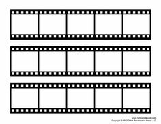 Free film strip templates for your photo collages and movie posters. Print these blank film strip templates. Learn how to add your photos in Photoshop. Movie Reels, Film Reels, Collage Foto, Poster Collage, Collage Collage, Kino Box, Polaroid Template, Photos Booth, Polaroid Frame