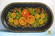 Gorgeous tray by by Natalia Stativa-Zharko