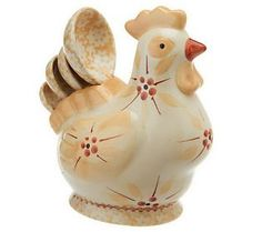 Temp-tations Old World Figural Chicken 5-pc. Measuring Set