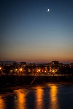 Atardecer en El Rinconín #Gijón Harvest, Celestial, Sunset, Outdoor, Outdoors, Sunsets, Outdoor Games, The Great Outdoors, The Sunset