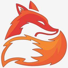 Icon Design, Renard Logo, Art Fox, Fur Background, Logo Animal, Fuchs Illustration, Illustration Mignonne, Logo Image, Fox Drawing