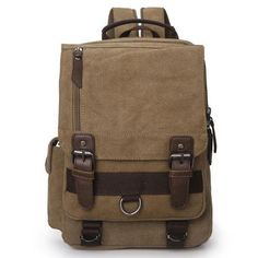 Size: Element: Square/FlapCapacity: Can Hold Ipad Magazines and Umbrella,ect. Diy Backpack, Hiking Backpack, Leather Backpack, Fashion Backpack, Boys Backpacks, School Backpacks, Bag Women, Square Canvas, Backpacking Gear