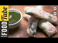 Blt spring rolls recipe fresh bacon lettuce tomato rolls youtube prawn spring rolls sweet chilli sauce the food busker youtube forumfinder Image collections