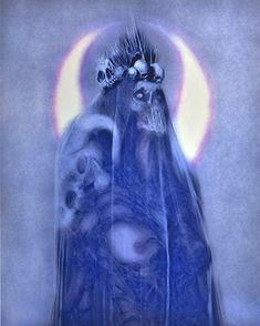 Macabre Art, Occult Art, Creature Design, Skull Art, Dark Art, Painting & Drawing, Skulls, Concept Art, Horror