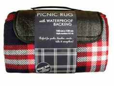 Picnic Rug With Waterproof Backing Red Festival Must Haves, We Are Festival, Festival Essentials, Picnic Blanket, Messenger Bag, Satchel, Rugs, Camping, Cambridge