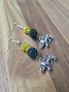 Baylor University Earrings Baylor Jewelry Baylor by TheBadaBling