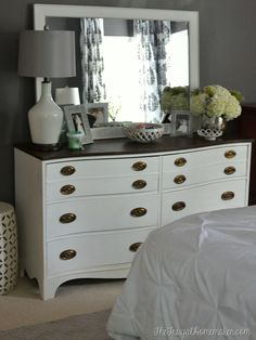 How to stage a dresser | Bedrooms | Pinterest | Dresser, Stage and ...