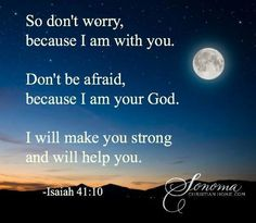 No matter what you are going through, He will lead you through it. Biblical Inspiration, Christian Inspiration, Isaiah 41 10, Dont Be Afraid, Gods Grace, Faith In God, Christian Quotes, Inspire Me, No Worries