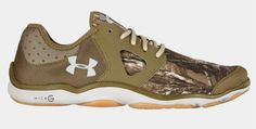 Under Armour® Men's Camo Toxic Outdoor Trail Running Shoe