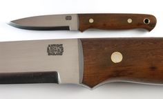 Rosewood handle Bushcraft knife by A Wright and Son