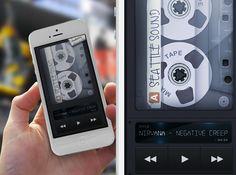 UI Design: Mixtape Music App | Abduzeedo Design Inspiration & Tutorials
