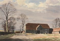 Kentish Farm - Rowland Hilder