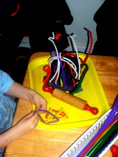 Ideas for your playdough toolkit