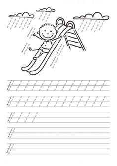 thumbnail of dik temel harfler Preschool Learning Activities, Preschool Curriculum, Kindergarten Worksheets, Worksheets For Kids, Teaching Kids, Kids Learning, Handwriting Activities, Handwriting Practice, Pre Writing