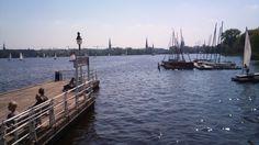 Alster, Hamburg  Foto: Amely Sharon Maacken, 2013