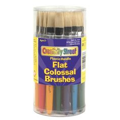 Flat Colossal Brushes, Set of 30, CK-5167