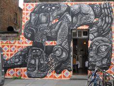 Street art - Brick Lane, East London